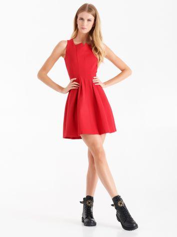 Full dress in Milano stitch, true red Full dress in Milano stitch, true red Rinascimento