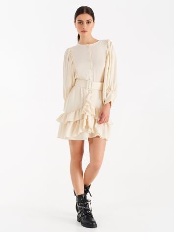 Dress with ruffles and frills Dress with ruffles and frills Rinascimento