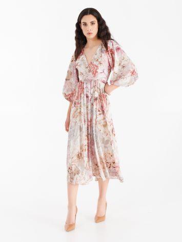 Long satin dress Long satin dress Rinascimento
