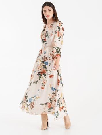 Floral print dress Floral print dress Rinascimento