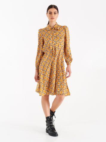 Geometric print dress Geometric print dress Rinascimento