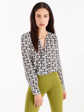 Geometric print blouse Geometric print blouse Rinascimento