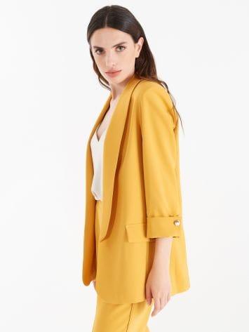 Technical fabric open jacket Technical fabric open jacket Rinascimento