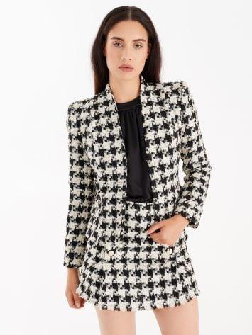 Matting jacket with lurex threads Matting jacket with lurex threads Rinascimento