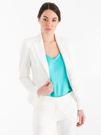 Jacket with one-button closure Jacket with one-button closure Rinascimento