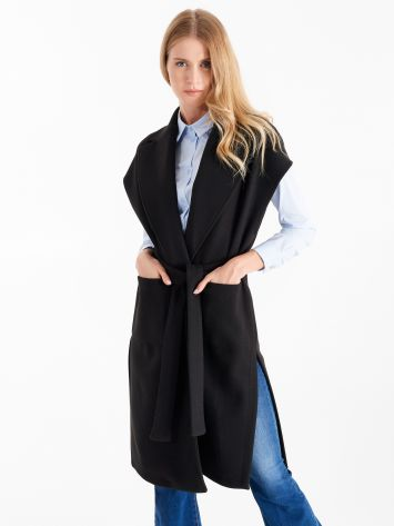 Black cloth vest Black cloth vest Rinascimento