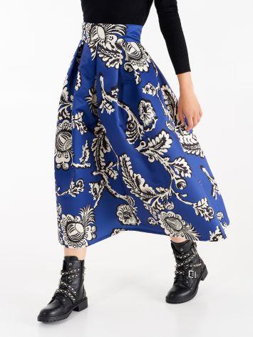 Blue Klein duchesse skirt Blue Klein duchesse skirt Rinascimento
