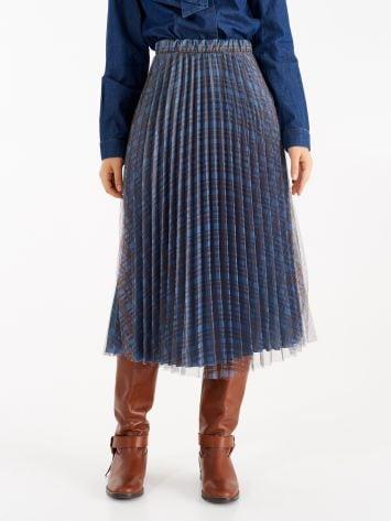 Pleated midi skirt Pleated midi skirt Rinascimento