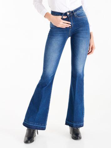 Jeans Flared High Waist Jeans Flared High Waist Rinascimento
