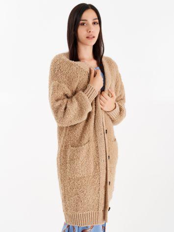 Maxi knit cardigan  Maxi knit cardigan  Rinascimento