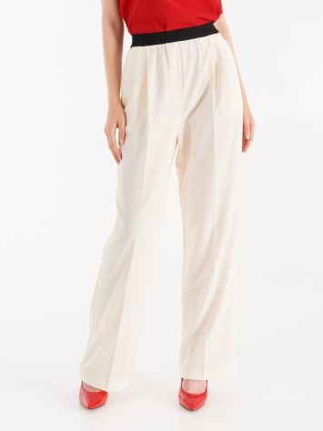 Trousers with contrasting band Trousers with contrasting band Rinascimento