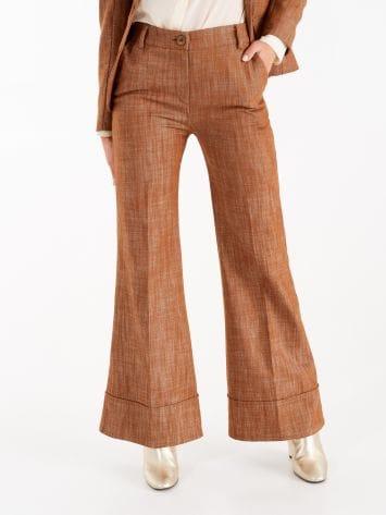 Pantaloni in Denim color Tabacco Pantaloni in Denim color Tabacco Rinascimento