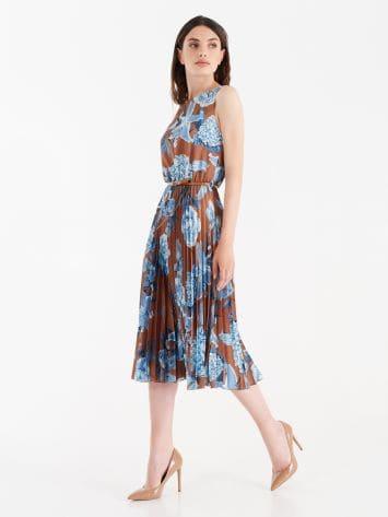 Midi pleated dress Midi pleated dress Rinascimento