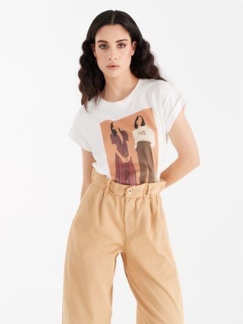 Cotton T-shirt Cotton T-shirt Rinascimento