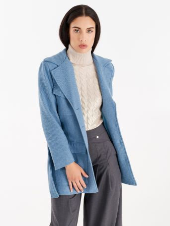 Coat with utility pockets