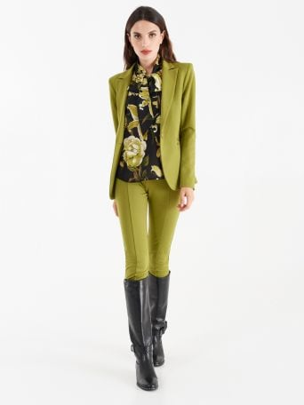 Milano stitch suit
