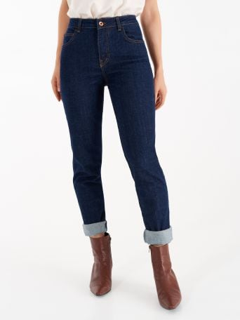 Jeans with cuff