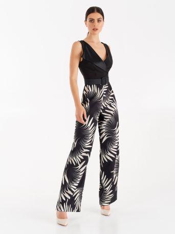 Optical print one-print suit