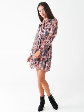 Short floral dress Short floral dress Rinascimento