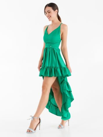Asymmetrical dress with tail Asymmetrical dress with tail Rinascimento