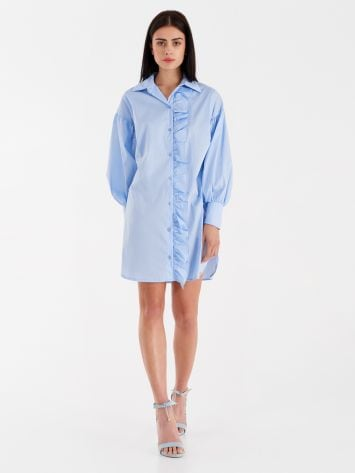 Chemise dress with ruffles Chemise dress with ruffles Rinascimento