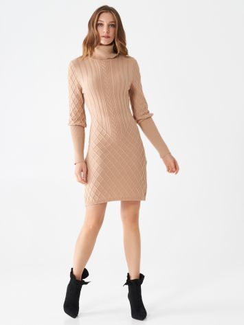 Short knitted dress Short knitted dress Rinascimento