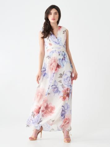 Long floral dress Long floral dress Rinascimento