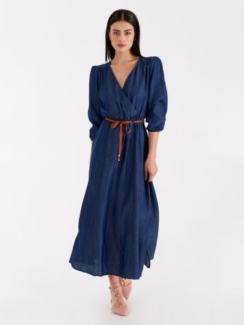 Long wrap dress Long wrap dress Rinascimento