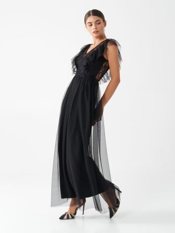 Long tulle dress Long tulle dress Rinascimento