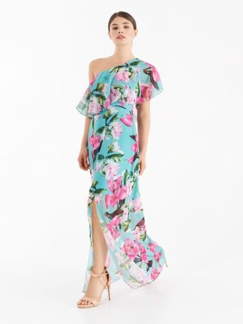Long, one-shoulder dress Long, one-shoulder dress Rinascimento