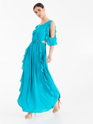 Long ruffled dress  Long ruffled dress  Rinascimento