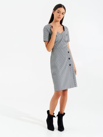 Houndstooth sheath dress Houndstooth sheath dress Rinascimento