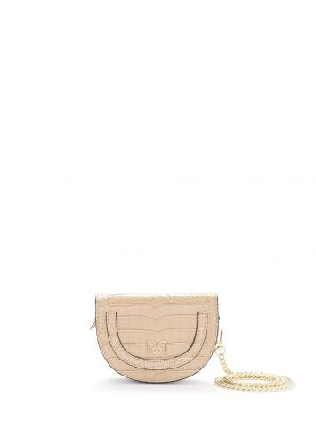 Crocodile-effect leather mini-bag Crocodile-effect leather mini-bag Rinascimento