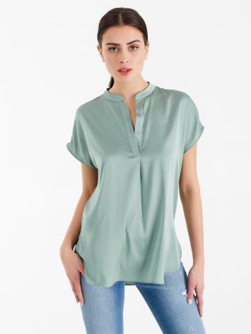 Satin blouse Satin blouse Rinascimento