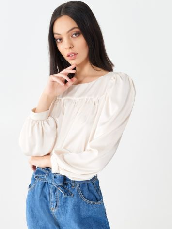 Cropped blouse Cropped blouse Rinascimento