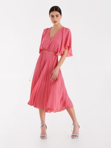 Pleated midi dress Pleated midi dress Rinascimento