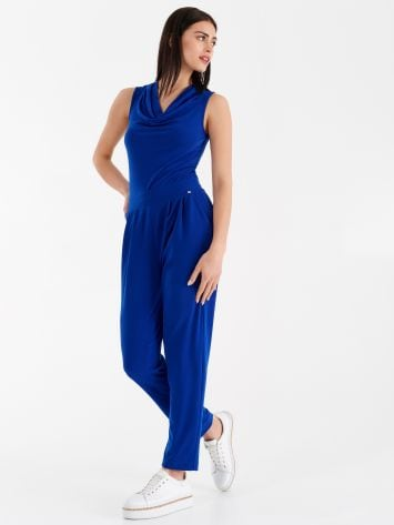 Sleeveless stretch one-piece suit Sleeveless stretch one-piece suit Rinascimento