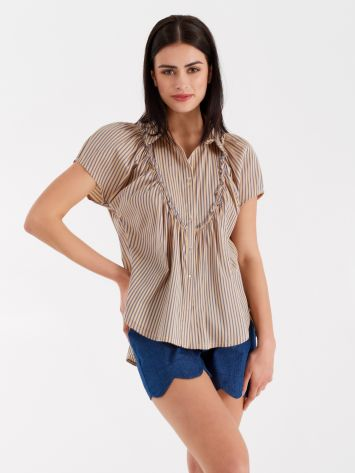 Striped blouse Striped blouse Rinascimento