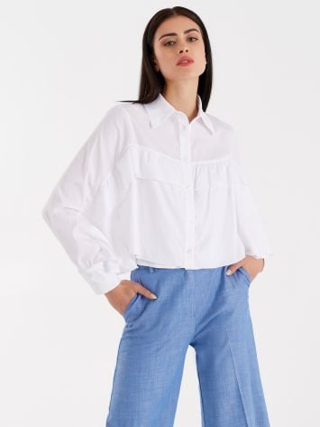Boxy shirt with ruffles Boxy shirt with ruffles Rinascimento