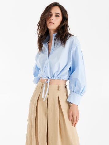 Boxy shirt with drawstring Boxy shirt with drawstring Rinascimento