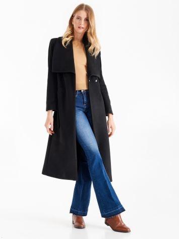 Black robe coat Black robe coat Rinascimento