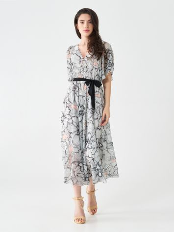 Chic flowers midi dress Chic flowers midi dress Rinascimento