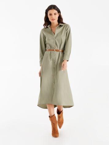 Poplin chemise dress Poplin chemise dress Rinascimento