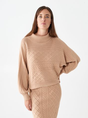 High-neck jumper High-neck jumper Rinascimento