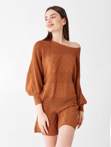 Pullover aus gemischter Viskose Pullover aus gemischter Viskose Rinascimento