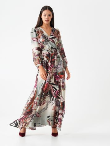 Long printed dress Long printed dress Rinascimento