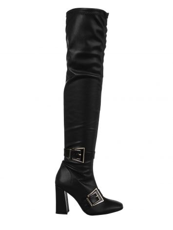 High cuissard boots with buckles High cuissard boots with buckles Rinascimento