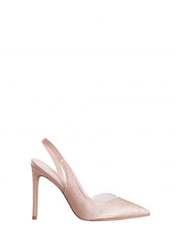 Slingback Pumps with Strass Slingback Pumps with Strass Rinascimento