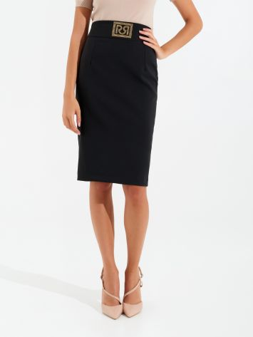 Monogram pencil skirt Monogram pencil skirt Rinascimento