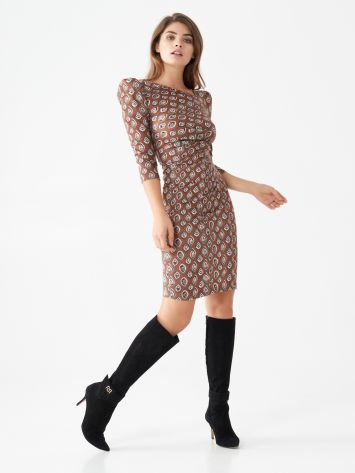 Printed sheath dress Printed sheath dress Rinascimento